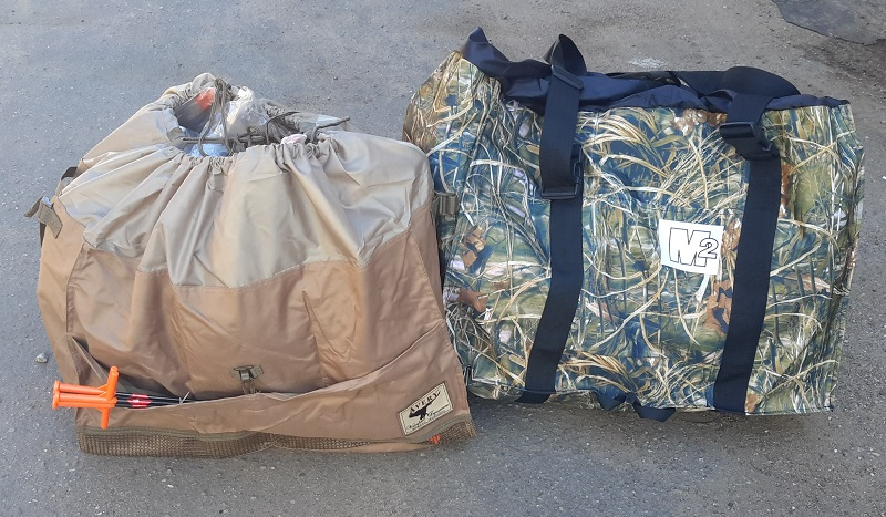 Сумка для переноски чучел гусей   6-Slot Mid-Size Full Body Goose Decoy Bag/Field Khaki 00123