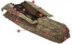 Засидка Avery Outdoors Finisher Layout Blind KW1 Camo 01409