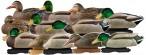Кряква 73120 GreenHead Gear Pro-Grade Mallards/Harvester Pack w/flocked drake heads  комплект 5 уток и 7 селезней
