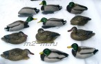Кряква 73117 Avery GHG GreenHead Gear Pro-Grade Mallards/Harvester Pack  комплект 12 шт.