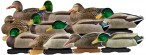 Кряква 73120 GreenHead Gear Pro-Grade Mallards/Harvester Pack w/flocked drake heads  комплект 5 уток и 7 селезней